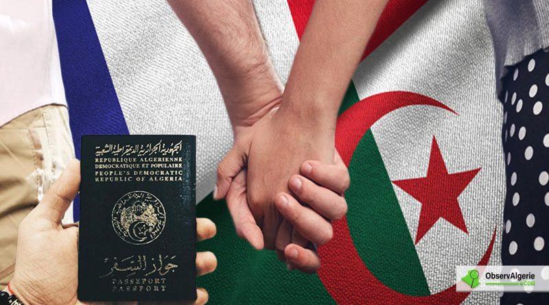 Regroupement familial pour les Algériens en France : Du nouveau pour les conjoints de Français