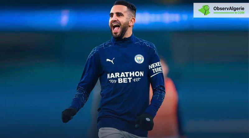 Manchester City: Riyad Mahrez élu joueur du mois de février