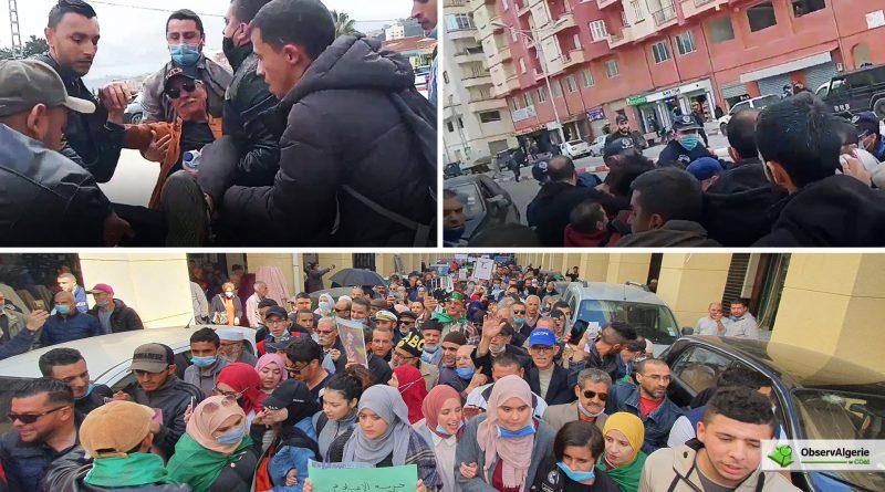 Hirak estudiantin : Grande marche à Alger et répression à Bejaïa